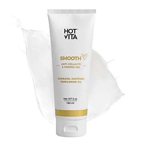 Hot Vita Anti Cellulite Gel – Skin Tightening & Firming Body Lotion – Anti Stretch Mark Cream (6 oz)