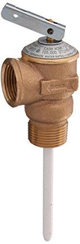 Cash Acme - Shark Bite 15836A-0150 Temperature & Pressure Relief Valves, 150 PSI, Copper