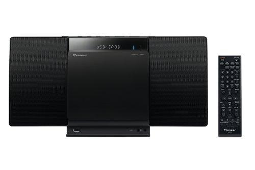 Pioneer X-SMC01BT-K Micro Hifi-System (2x 10 Watt, Front-USB, CD-Laufwerk, Bluetooth) schwarz