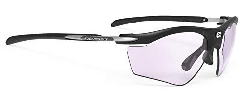 Rudy Project Rydon Slim Golf Sportbrille - mat Black - ImpactX 2 Laser Purple