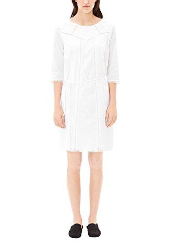 s.Oliver Damen 14704826434 Kleid, Weiß (White 0100), 38