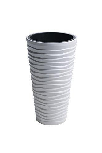 Prosper Plast dpsa350-s44934.9x 61.9cm Sand Slim Flowerpot–Bianco (Pezzi)