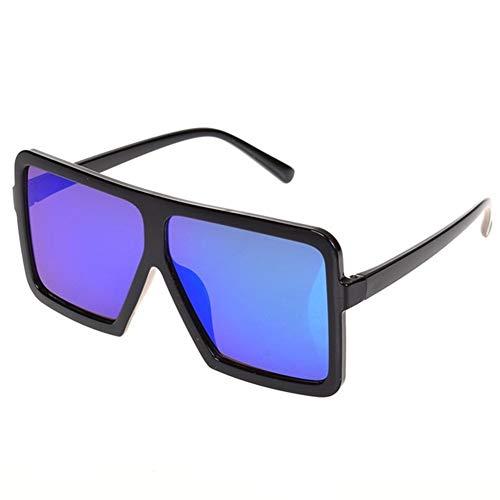 KANCK Gafas de Sol Gafas Glassess 1pcs Plaza Grande y Plana de...