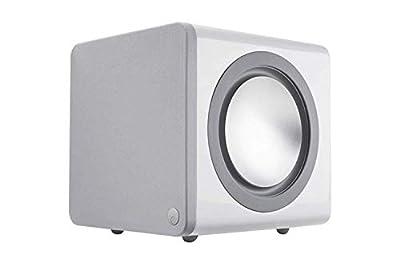Cambridge Audio Minx X201 Active Subwoofer - 200 Watts, Auto Power On (White) by Cambridge Audio