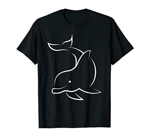 Delfin Delfine Ozean Meerestiere Delphinen Cooles Geschenk T-Shirt