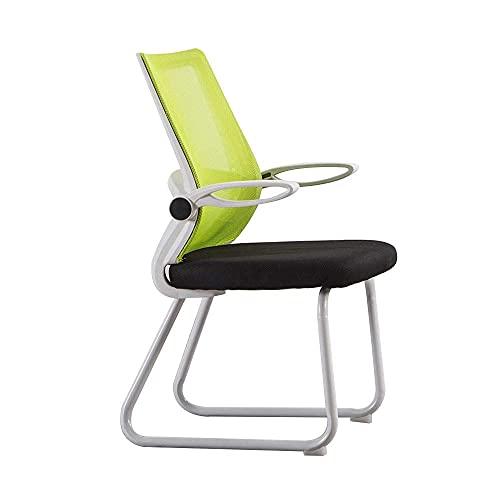 N&O Renovation House Chair Drehstuhl Bürostuhl Ergonomie Einteilige Rückenlehne Chefsessel Haushaltsverstellbare Armlehne Computerstuhl Einfacher Bürostuhl Belastbarkeit: 440lbs Blau