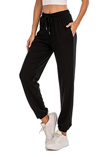 Enjoyoself Pantaloni Tuta Donna Sportivi con Coulisse Casual Pantaloni per Primavera Estate Pantaloni da Pigiama Yoga Jogging Pants