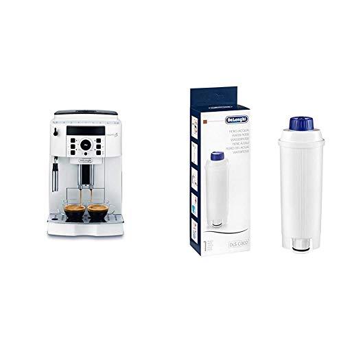 De'Longhi Magnifica S ECAM21.110.W Macchina da Caff&egrave & DLSC002 Filtro per Acqua Macchina Caffè, Filtro Acqua Addolcitore