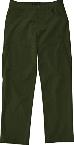 LAD WEATHER Hiking Pants Mens Waterproof Lightweight Durable Mountain Outdoor Travel (Green, 32W x 26L)