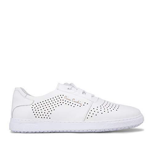 Pierre Cardin Schuhe Herren Schuhe 11104/Weiß/43