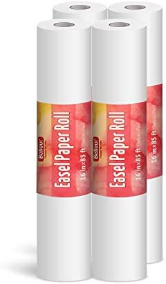 Belleur Art Paper Roll Replacement for Kids Art Easel Paper 16 X 1020 85ft Perfect for Packing product image