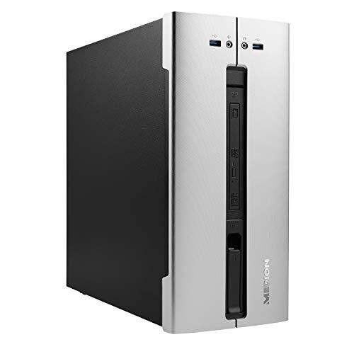 MEDION E63006 Desktop PC (Intel Core i5-10400, 16GB DDR4 RAM, 512GB SSD, 1TB HDD, DVD, Intel UHD 630, Wi-Fi 6, Bluetooth 5.0, Win 10 Home)