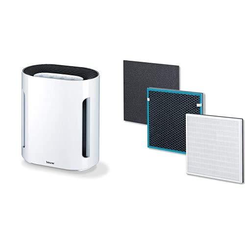 Beurer - Purificador de aire hasta 26 m² + Set filtro para purificador de aire