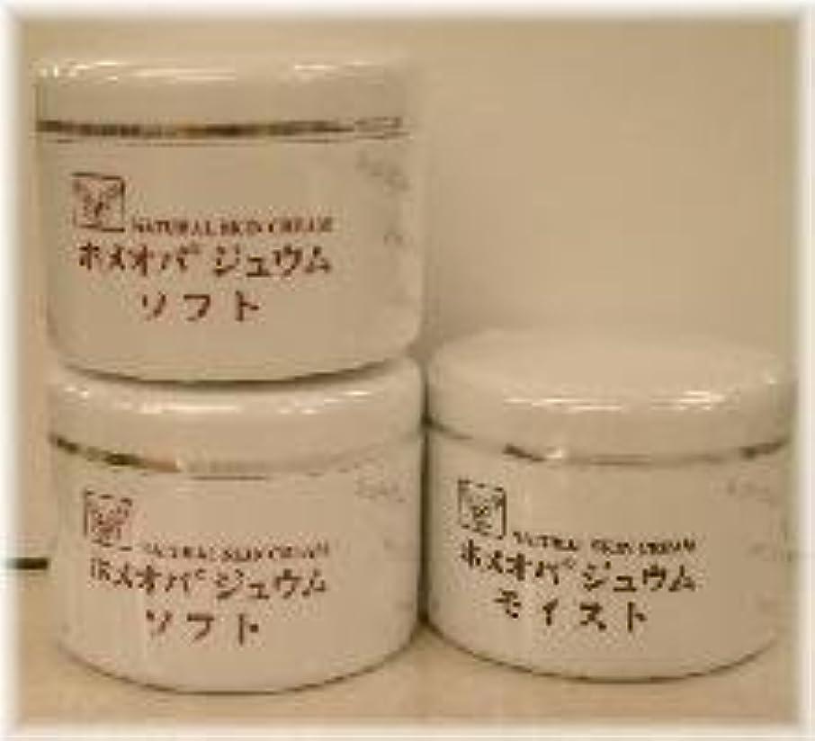 大脳ジョージハンブリーモーションホメオパジュウム スキンケア商品3点 ¥10500クリームソフト2個+クリームモイスト