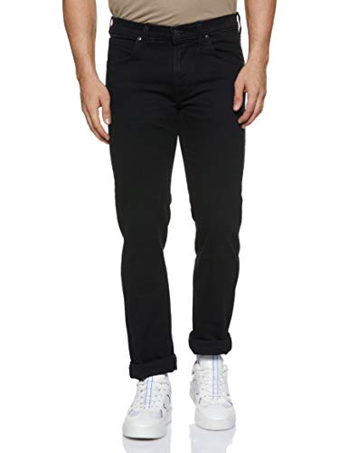 Lee Daren Zip Fly, Jeans Hombre, Negro (Black Rinse), W32/L32 (Talla del fabricante: 32)