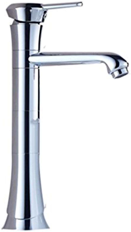 Wasserhahn Erhhung Kupfer Hot and Cold Einlochmontage Bad Becken Wasch Loch Durchmesser 32mm bis 40mm kann installiert Werden Liuyu.