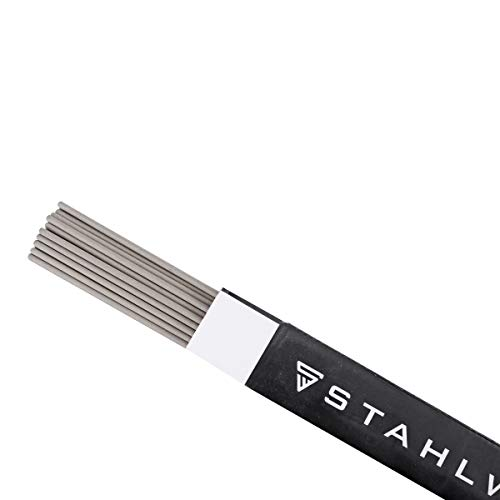 STAHLWERK Stabelektroden AWS E6013RR dick rutilumhüllt 2,5 x 350 mm, Schweißstrom 50-90 A, hohe chemische Reinheit, 2 kg MMA ARC