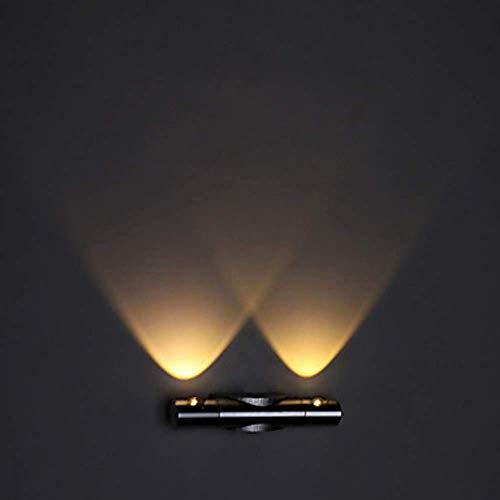 ZANYUYU Lámpara de pared empotrada moderna y contemporánea LED de metal de la lámpara de la pared de la lámpara de la iluminación de las lámparas de 1w de alto