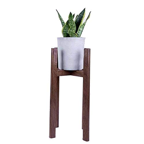 Plant Stand Wood Homes Garden Plant Stand bloempot houder display Potplant Holder Rack Binnen Buiten Beweegbare Multilayer Plant Stand Display Stand (Color : Brown, Size : 37x37x60cm)