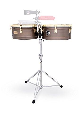 LP Latin Percussion LP257-KP - Timbales con casco de bronce