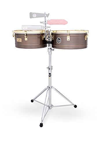 LP Latin Percussion LP257-KP - Timbales con casco de bronce