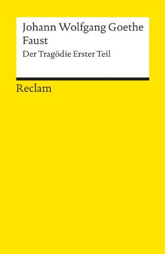 Faust: Der Tragödie Erster Teil: 1
