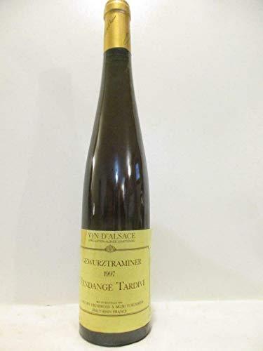 50 cl gewurztraminer cave vignerons turckheim vendange tardive liquoreux 1997 - alsace