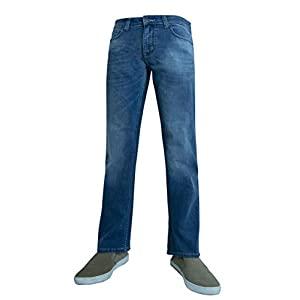 Men's Straight Leg Regular FIT Fashion Jeans