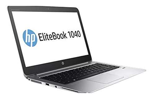 HP EliteBook Folio 1040 G3 - Intel Core i5-6300U - 8GB DDR4 Memory, 128GB SSD - 14' QHD Touchscreen - 802.11AC - Bluetooth - Webcam - USB-C - HDMI - Windows 10 Pro (Renewed)