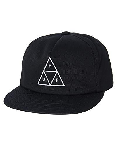 HUF Gorra Snapback Triple Triangle Unstructured Negro - Talla única