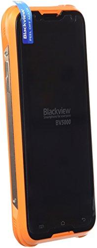 Blackview BV5000 12,7 cm (5 Zoll) 2 GB 16 GB Dual-SIM 4G Schwarz 4700 mAh - Smartphones (12,7 cm (5 Zoll), 2 GB, 16 GB, 13 MP, Android 5.1, Schwarz)