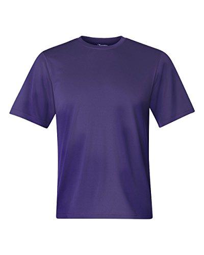Champion Double Dry 4.1 oz.Interlock camiseta, peque?o, P?RPURA