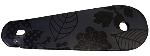 BLS kettenschutz Lacktuch 28 Zoll 68,5 x 22 cm matt schwarz