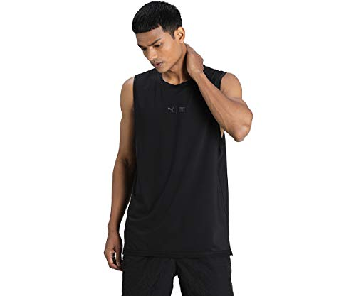 PUMA Train First Mile Sleeveless Te T-Shirt Homme, FR : L (Taille Fabricant : L)