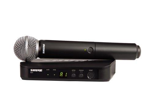 シュアー SHURE BLX24J PG58-JB ハンドヘルド型ワイヤレスシステム ワイヤレスマイク