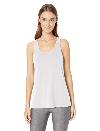 Amazon Essentials Women's Studio Lightweight Keyhole Tank, -white, X-Large