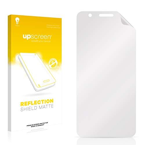upscreen Entspiegelungs-Schutzfolie kompatibel mit HTC One X10 – Anti-Reflex Bildschirmschutz-Folie Matt
