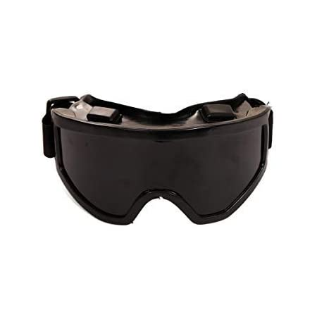 DARIT Protective Safety Glasses, Industrial Goggles Anti-Fog Scratch Resistance Anti-Chemical Splash Goggles Safety Goggles (Black)