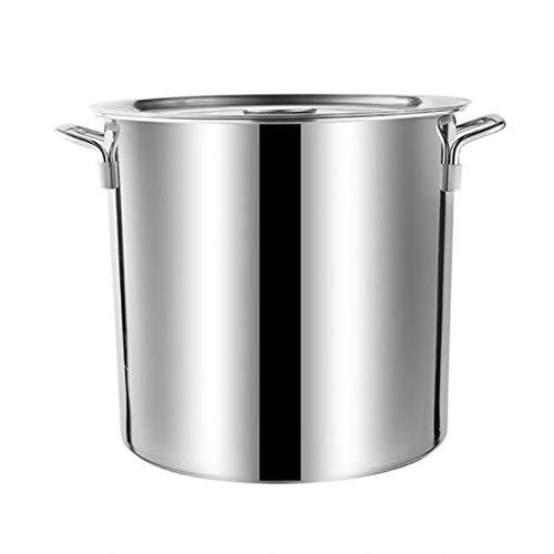 WQF, pentole da cucina in acciaio inox, a rapida conduzione del calore, facili da pulire (dimensioni: 30 x 50 cm) (dimensioni: 30 x 40 cm)