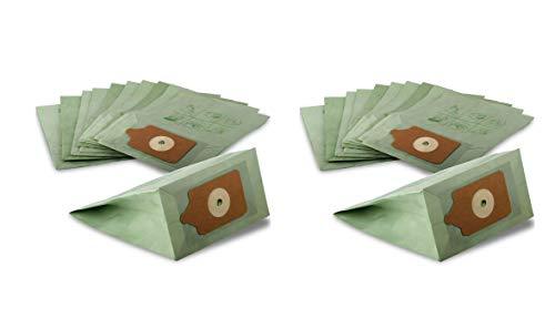 Bolsas de papel de repuesto para aspiradoras Henry Hoover, 20 unidades
