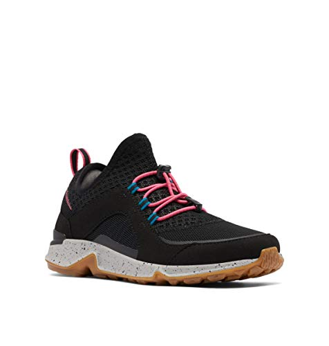 Columbia womens Vitesse Slip Hiking Shoe, Black/Afterglow, 10.5 US