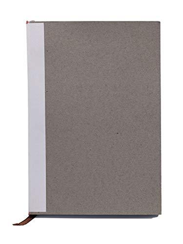 skaard Blocco Note DinA5 | Alta Qualità ECF | Bianco | Carta Bianca | 200 Pagine | Inserto di Ricarica