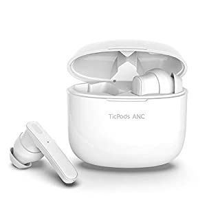 TicPods ANC Active Noise Cancellation True Wireless Earbuds Bluetooth 5.0 IPX5 Sweat and Water Resistant with Type C Charging for Running and Sports Charging Case Included-Ice (B089NRZHNH) | Amazon price tracker / tracking, Amazon price history charts, Amazon price watches, Amazon price drop alerts