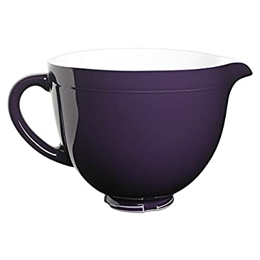 KitchenAid KSMCB5RP 5-Qt. Tilt-Head Ceramic Bowl - Regal Purple