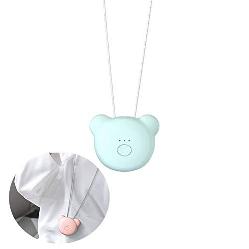 Draagbare luchtreiniger ketting Mini draagbare USB-luchtfilter Negatieve ionengenerator Geluidsarme luchtverfrisser,Blue