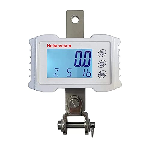Helsevesen Digital Patient Lift Scale with Stainless Steel Universal Bracket Kit Included, 660lb Weight Capacity, Patient Hoist Scale