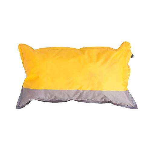 Reisekissen Automatische Aufblasbare Schlafsack Kissen Im Freien Freizeit Ultraleichte Ergonomische Gestaltung,Gelb