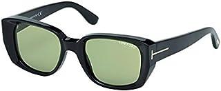 نظارة شمسية للرجال من توم فورد - عدسات خضراء، FT0492