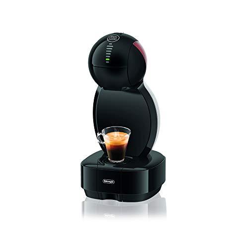 De'Longhi EDG 355.B1 | NESCAFÉ Dolce Gusto Colors | Kapsel Kaffeemaschine | Für heiße und kalte Getränke | 15 bar Pumpendruck für samtige Crema | Mit 3 farbigen Einsätzen | Schwarz