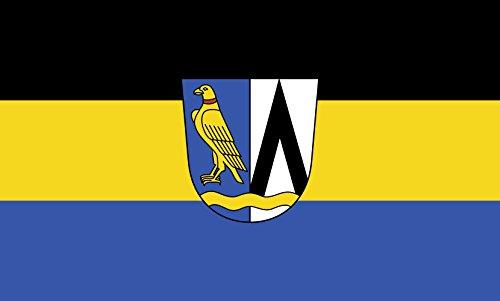 Unbekannt magFlags Tisch-Fahne/Tisch-Flagge: Feldkirchen-Westerham 15x25cm inkl. Tisch-Ständer